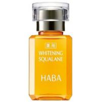日本  HABA  无添加 药用美白 鲨烷精纯美容油 15ml