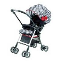 日本 Pigeon 贝亲 mahalo laule'a 婴儿推车 双向调节(格子布)