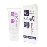 日本 CHEZ MOI 面膜 蓝紫根 去抬头纹 淡化黑色素 保湿紧致抗皱 额头处用 30g