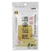 日本  冲绳 琉球酒豪传说  解酒护肝  应酬不醉  醒酒姜黄  6包入