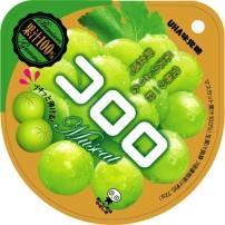 悠哈味觉糖 Cororo 绿葡萄味软糖 40g×6袋