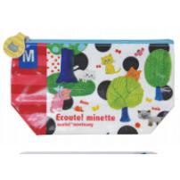 日本 Monseuil  化妆包 小袋  森林图案 4522202804690