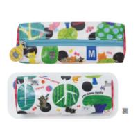 日本 Monseuil 圆筒笔袋  森林图案 4522202804713