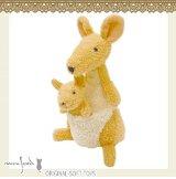 日本 Monseuil 毛绒玩具 木偶 袋鼠  4522202103861