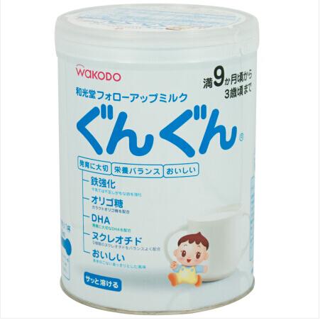 日本 和光堂wakodo 婴幼儿宝宝奶粉2段850g罐
