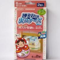 日本原装进口金鸟螨虫贴 席子被子被褥枕头除螨防臭