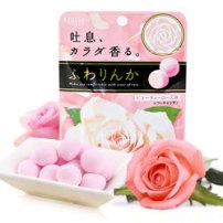 嘉娜宝Kracie玫瑰香体水果软糖果32g