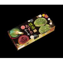 日本进口零食 [森永制菓] 宇治抹茶小豆蛋糕