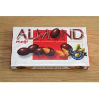 ALMOND/明治 杏仁夹心巧克力96克 纯正好吃不腻的巧克力
