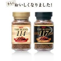 UCC 黑咖啡117+114 纯咖啡90克日本进口速溶咖啡