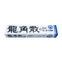 日本进口代购零食龙角散润喉糖药薄荷蜂蜜水蜜桃原味40g10粒条装