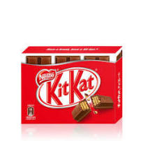 Nestle雀巢限定KitKat朱古力牛奶奇巧威化巧克力棒